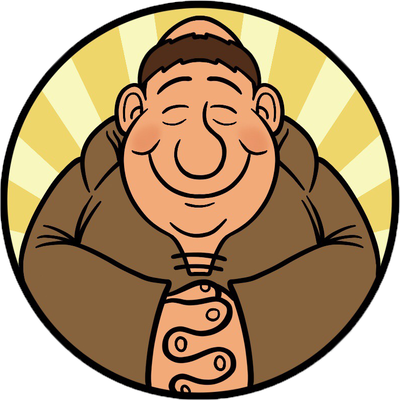 Brother Juniper's Logo Circle